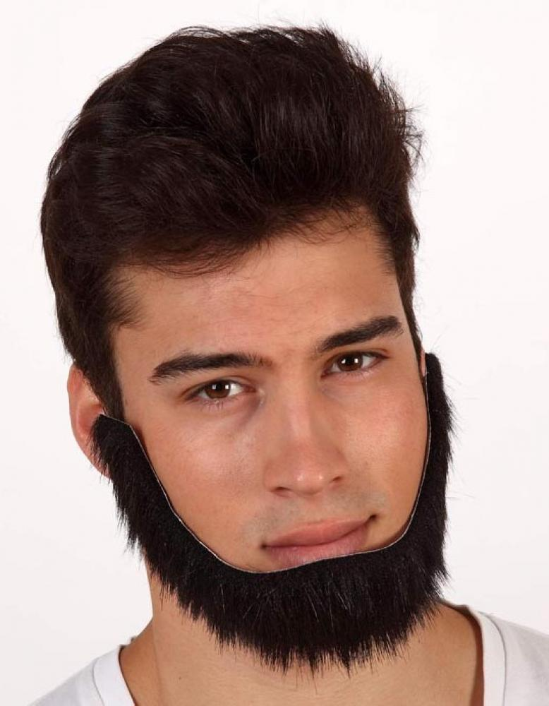 homme collier barbe